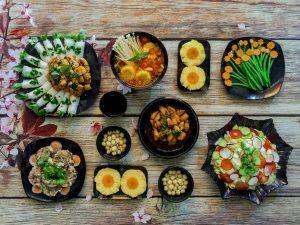 thực đơn món ăn hàng ngày